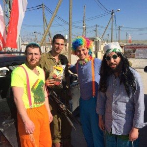 IDF Purim Mishloach Manot for Lone Soldiers