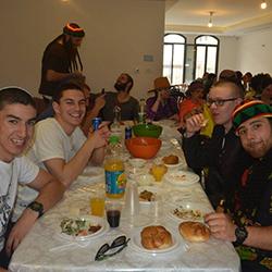 Chayal el Chayal Purim Seudah